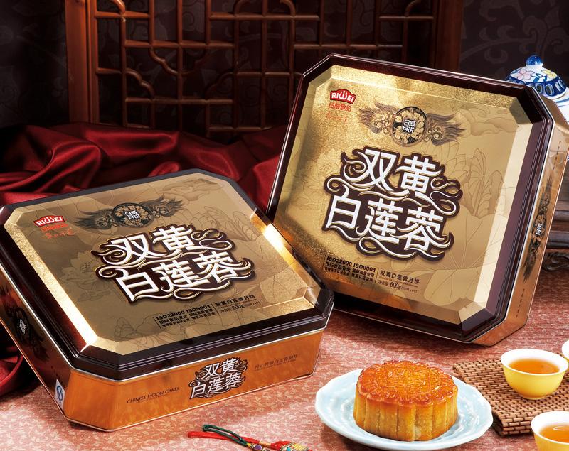 【日威月饼】双黄白莲蓉